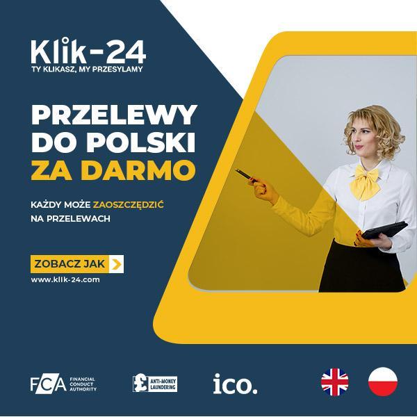 Darmowy przelew do Polski